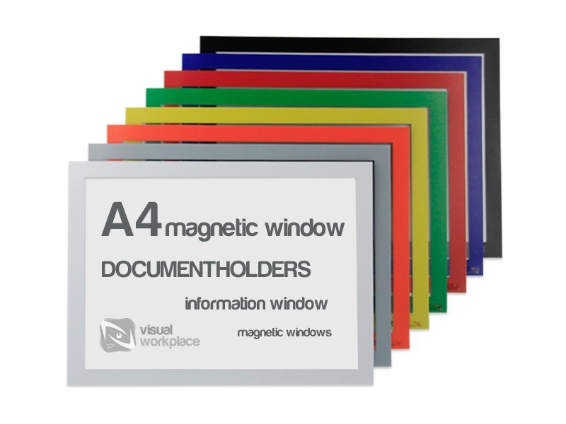 Magnetic windows A4 - TnP Visual Workplace
