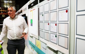Brabantia Teamwall sharing successes TnP Visual Workplace