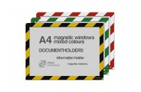 Magnetic windows A4 (various colours)