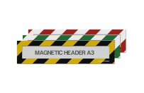 Magnetic window A3 headers (mixed colours)