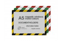Magnetic windows A5 (various colours)