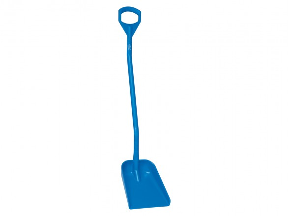 Vikan shovel small blade 1280mm blue